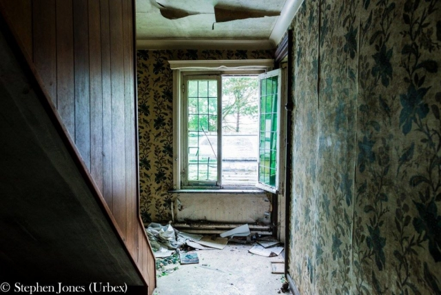 Urbex inside of old hotel