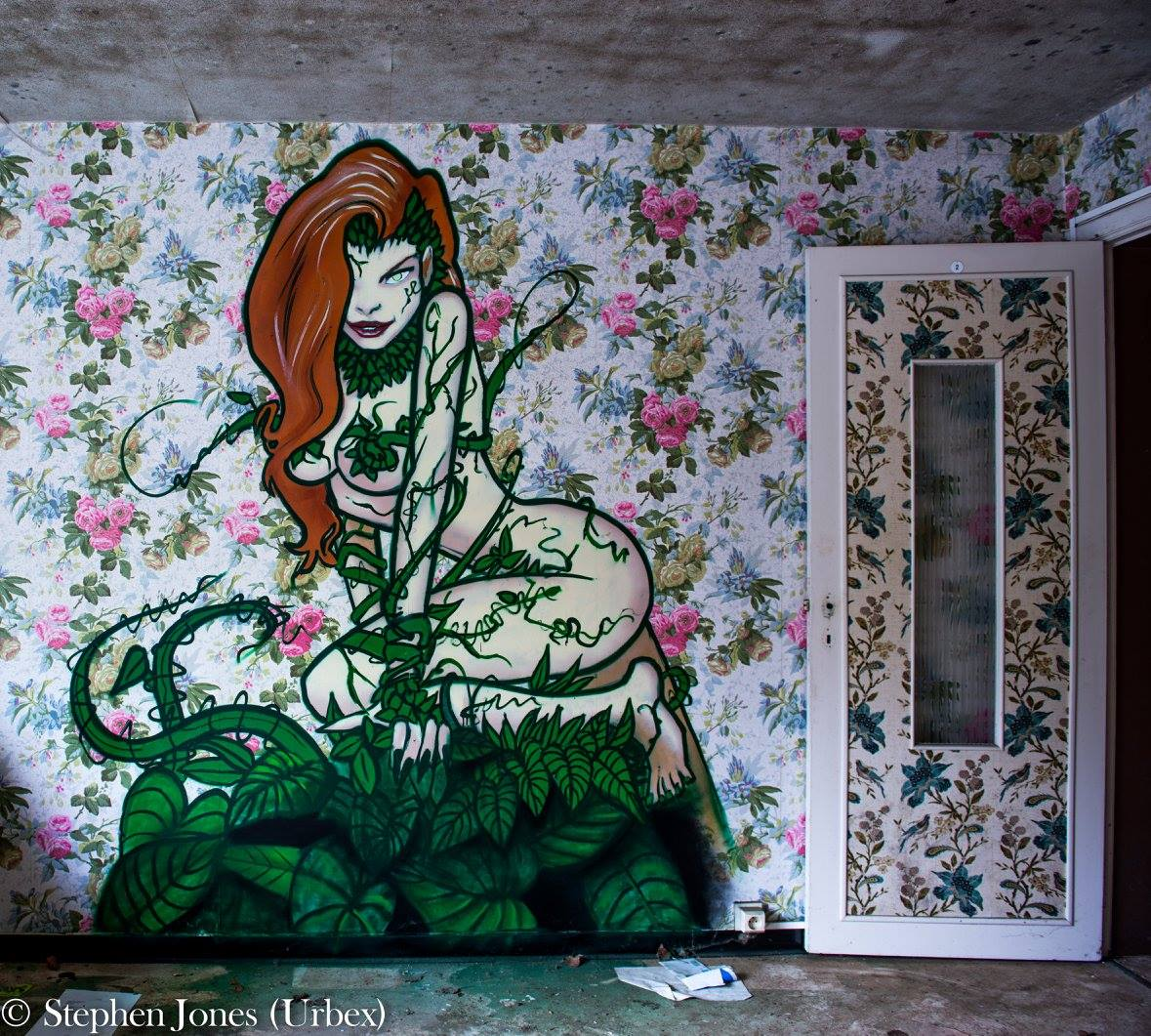 Poison Ivy made by unknown artist